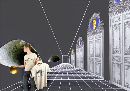 """in the fairy tale The Frog King"" according to the interpretation of C.G. Jung (space installation) 